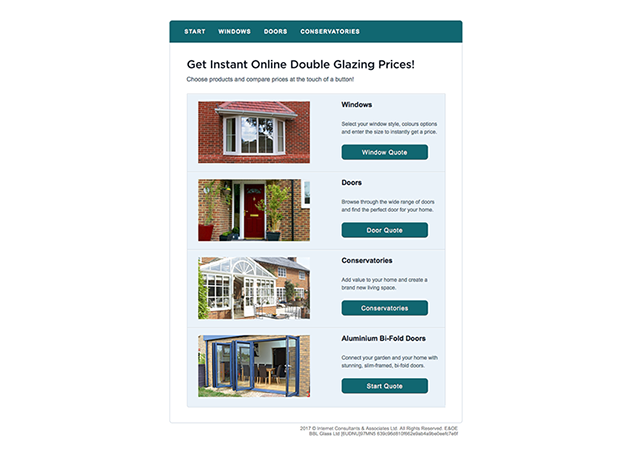 BBL Launches New Double Glazing Quoting Engine